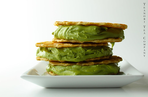 Matcha Green Tea Ice Cream Sandwich