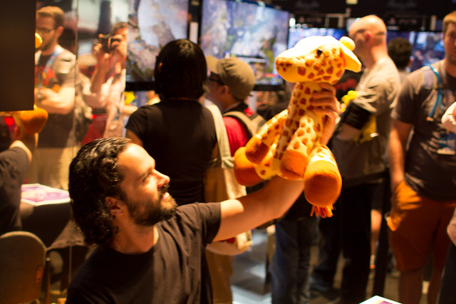 stuffed stuff: Giraffe from the Last of Us
