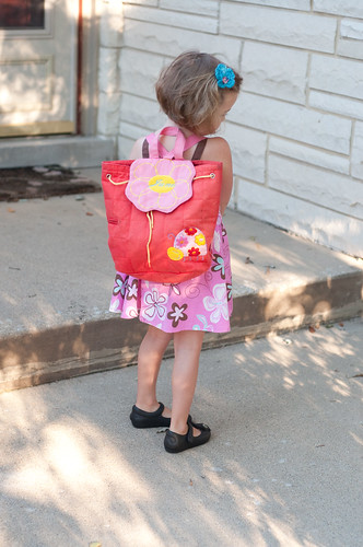 First day of 4 year old preschool