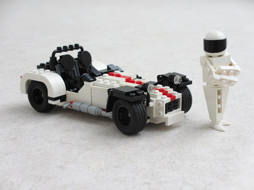 "Caterham R500 and ""The Stig"" (3)"