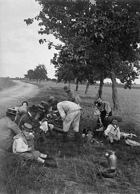 Goûter des chasseurs, 1894