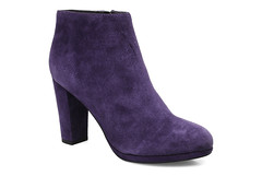 textile, footwear, purple, violet, boot, suede,