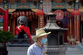 תמונה של Sik Sik Wong Tai Sin Temple. temple hongkong mask siksikyuenwongtaisintemple