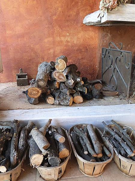 bois pour la cheminée