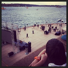 View from the back of the Opera House this afternoon international_fleet_review