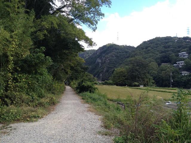 旧福知山線廃線跡-入口