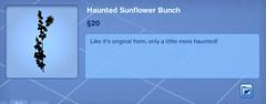 Haunted Sunflower Bunch