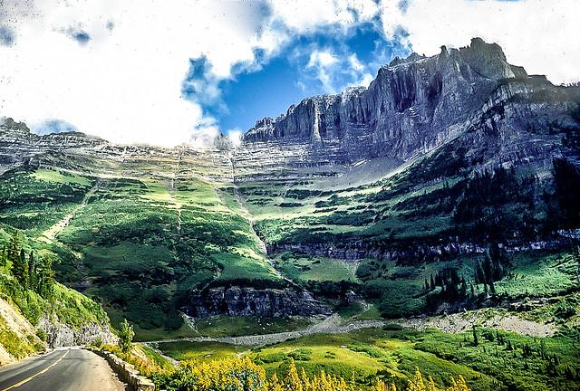 Garden Wall Glacier National Park Montana Flickr Photo Sharing