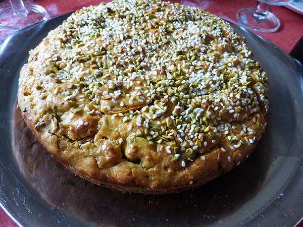 gâteau farine curry