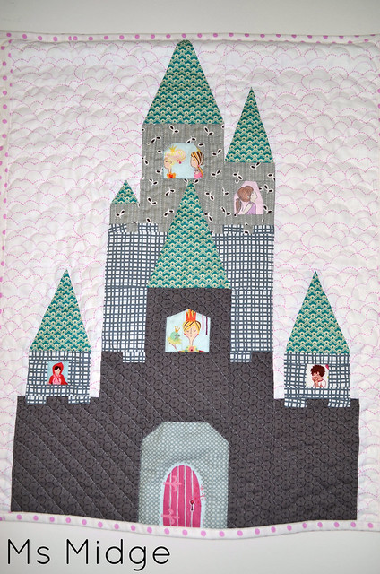 Paper Pieced Castle