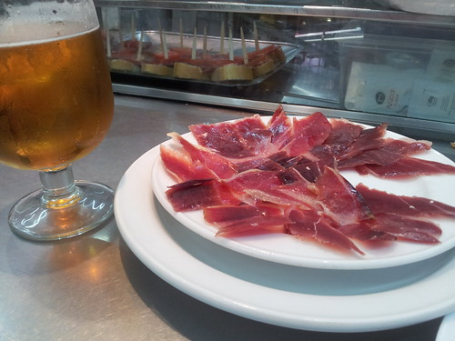 Ham & beer - what it's all about!