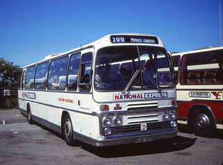 Gt Yarmouth coach station in August 1981 B (c) David Bell