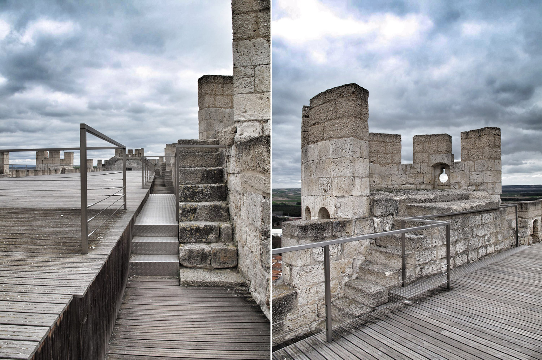 castillo peñafiel_patio sur_meridional_adarve_museo provincial vino