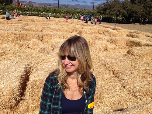 me at the pumpkin patch
