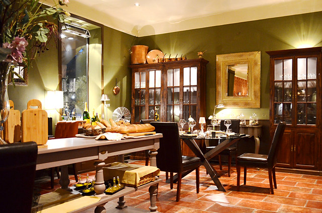 Dining Room, MEO Restaurant, Tarrascon, Provence, France