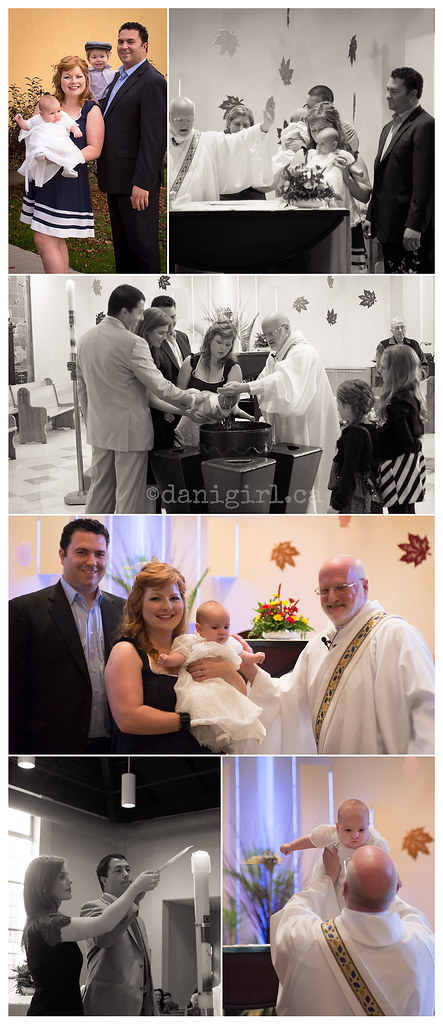 journalistic storytelling photos of a christening in a church