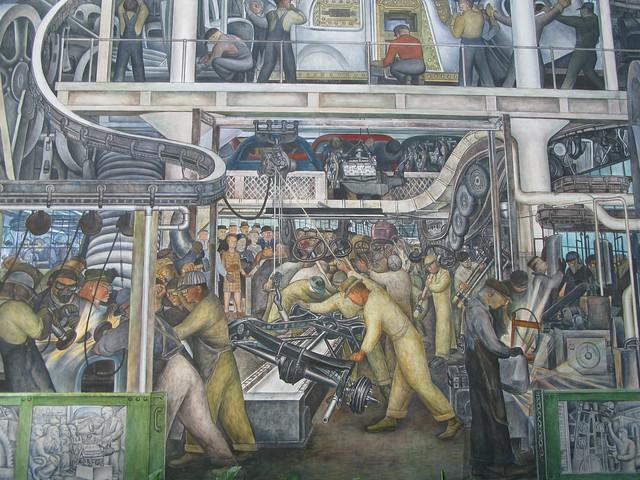 Diego Rivera Murals, Detroit Institute of Art