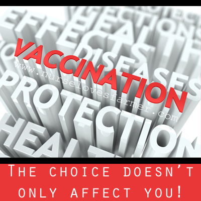 The Choice To Vaccinate Doesn't Only Affect You