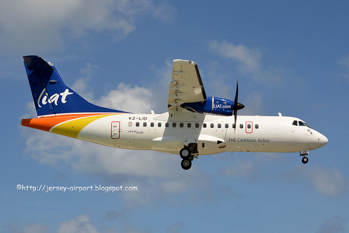 V2-LID ATR 42-600 by Jersey Airport Photography