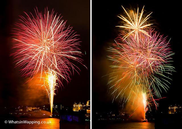 Lord Mayor's fireworks