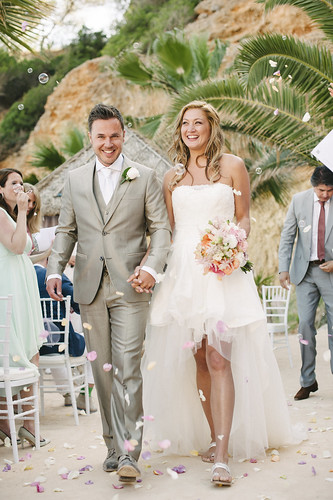 Corine & Robin, real Ibiza wedding