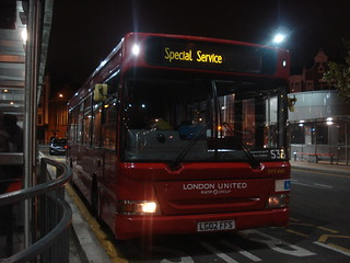London United DPS648 on Route 533, Hammersmith