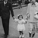 Pamiers, Ariège en septembre 1950, 2 ans, avec la robe que j'aimais. by Marie-Hélène Cingal