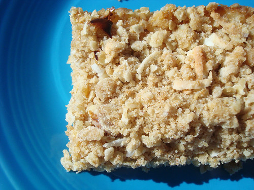 Lemon walnut bar