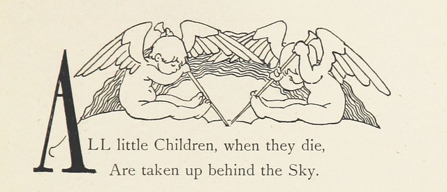 Image taken from page 121 of 'Red Apple and Silver Bells. A book of verse for children of all ages ... Illustrated by Alice B. Woodward'