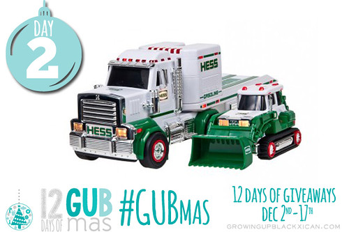 GUBmas Day two giveaway_HESS truck