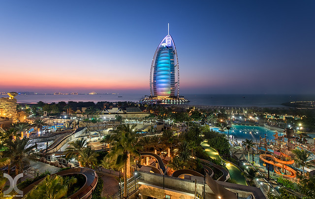 Burj Al Arab & Wild Wadi Waterpark