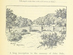 """British Library digitised image from page 107 of """"The Way about Derbyshire. With map ... With illustrations by W. A. Bettesworth"""""""