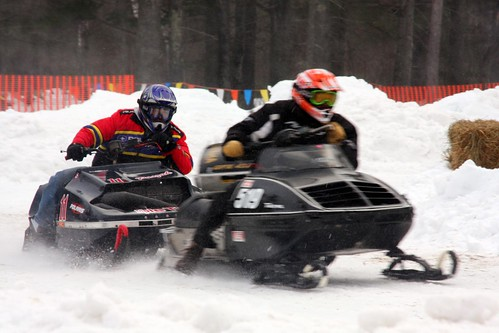 Vintage Snowmobiling