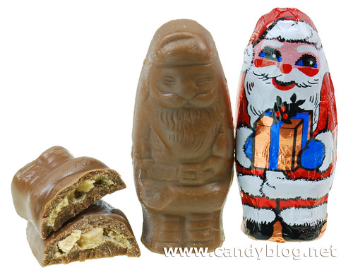 SweetWorks Milk Chocolate Peanut Butter Santas