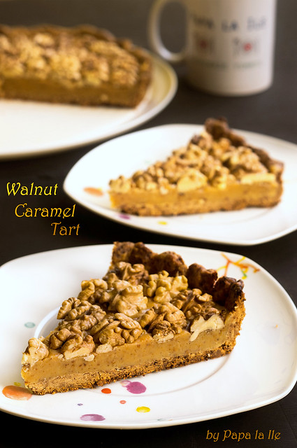 Walnut Caramel Tart (4)