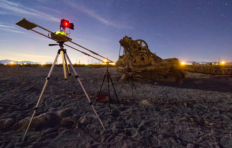Timelapse Dolly at the Salton Sea