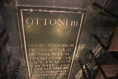 Grave of Otto III in the Choir of Aachen Cathedral