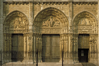 """Chartres Cathedral:  the """"Royal Portals"""""""