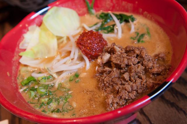 Spicy miso tonkotsu ramen, Jinya