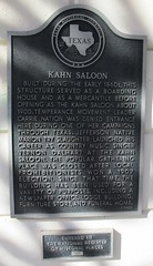 Photo of Andrew Carnegie black plaque