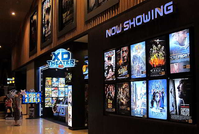 XD Motion Master Cinema, Pattaya Thailand