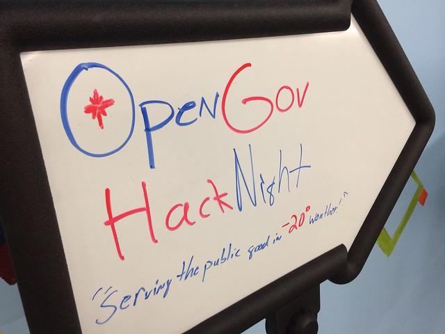 OpenGov Hack Night 1/21/13