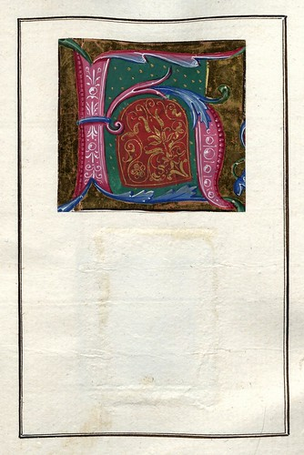 006-Álbum de las iníciales medievales -fol 28r- Biblioteca Nacional de Polonia