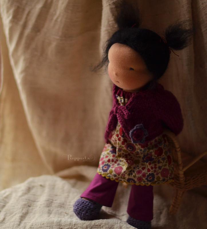 Jona, 12 inch waldorf inspired doll