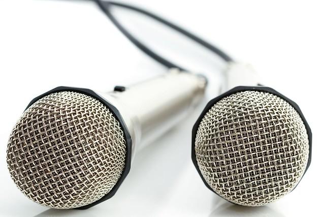 due microfoni