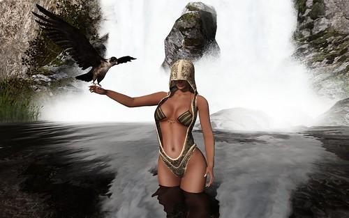 Lady halcón (!APHORISM! FANTASY GACHA) by Zipiღbusy