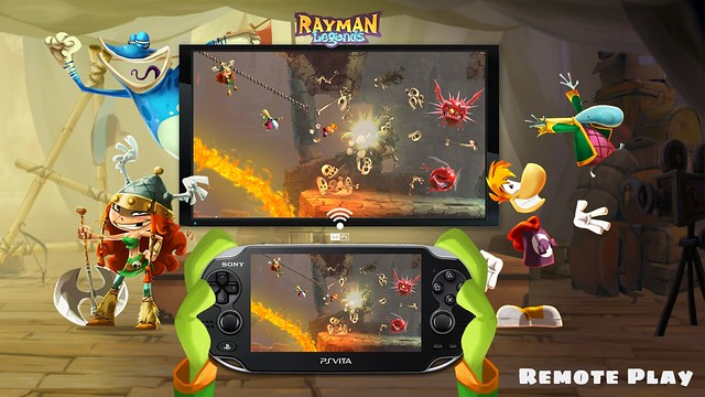 Rayman Legends on PS4