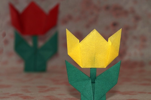 Origami Tulip (arranged by Masatsugu Tsutsumi)