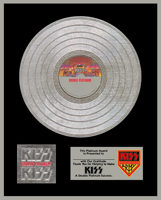 "Kiss ""Double Platinum"" (Album Insert)(Released: 04/02/78)"