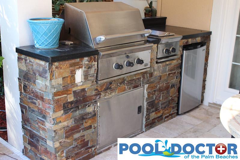 Custom Outdoor Kitchen West Palm Beach FL